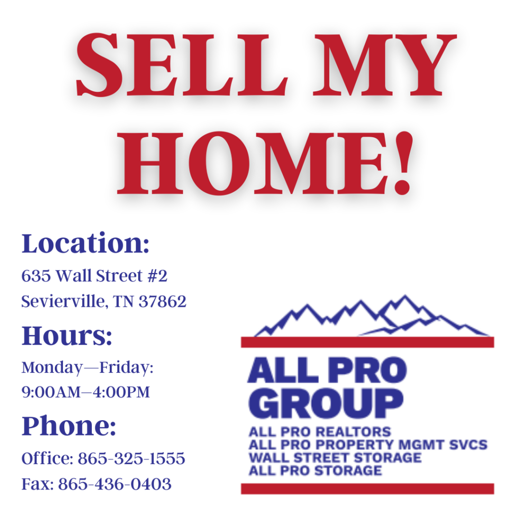 Sell My Home, Offer for my Smoky Mountain Home, Offer for My Great Smoky Home, Home Sales, Sell Your Home, Get Your Home Sold, List Your Home